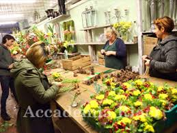 Flower Design Course Flower Arrangement In Florence Italy