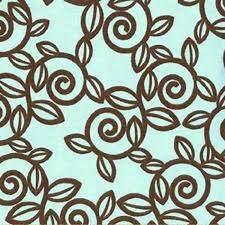 Green Trellis Fabric Premier Prints Trellis French Blue Kelso Brown By Pattern All