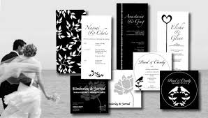 wedding invitations black and white different black and white wedding invitations trendy mods