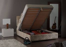 Storage Bed Ottoman by Luxury Storage Beds Beds With Deep Storage