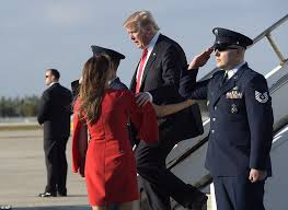 President Weekend Trump Flies For Mar A Lago Ball And Reunion With Melania Daily