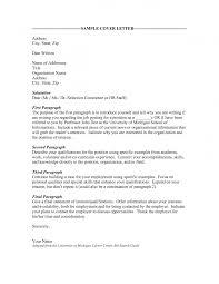 Sample Cover Letter For Sending Resume Via Email Sending A Cover Letter Resignation Letter Sample For Personal