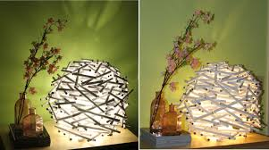 diy how to make a bird u0027s nest lamp shade out of newspaper catch