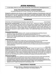 Business Resume Objective Examples Maintenance Resume Objective Examples Recentresumes Com