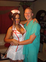 Battlestar Galactica Halloween Costume 42 Adorably Cheesy Couples Halloween Costumes Couple Costume
