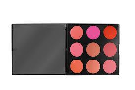 amazon com blushed blush palette by morphe 9 color beauty