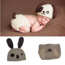newborn costumes 2018 lovely puppy dog newborn baby knitted baby boys coming