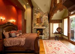Log Home Bedrooms Timber Frame Home Rustic Bedroom Vancouver By Sitka Log Homes