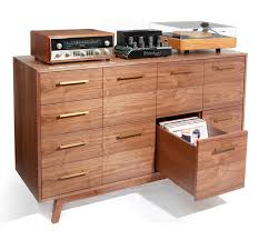 lp record cabinet furniture this is so sweet a custom made record cabinet by atocha design my