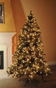 artificial tree prelit decor