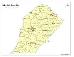 County Map Pennsylvania by Schuylkill Township Chester County Pa Maps And Regional Planning