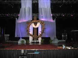 Church Stage Christmas Decorations Ship Ahoy Church Stage Design Ideas Interlocked Church Stage