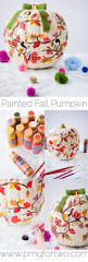 beautifully painted pumpkins are the perfect fall decor you can