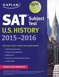 kaplan sat subject test u s history 2015 2016 kaplan