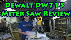 review of the dewalt dw715 12