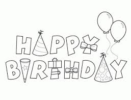 printable birthday ecards happy birthday card printable coloring page free printable birthday