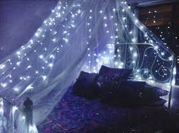 Diy Canopy Bed With Lights Make A Magical Bed Canopy With Lights Diy Projects For Everyone