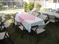 tables and chairs for rent balloon archespartyrentals tents patioheaters tables chairs linens