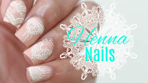 white henna nails using only a toothpick youtube