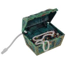 aquarium fish tank ornament air treasure chest spectra