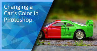 changing a car u0027s color in photoshop 300 free photoshop tutorials