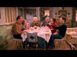 thanksgiving dinner table everybody raymond