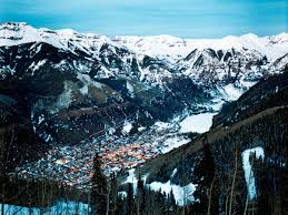 Telluride Colorado Map by Telluride Travel Deals Sunset