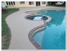 concrete pool deck paint colors decks home decorating ideas