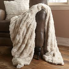 Faux Fur Blanket Queen Throw Blankets U0026 Furniture Blankets Arhaus