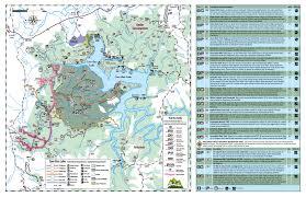 Taylorsville Lake Map Carrington Rock U2022 Hiking U2022 Kentucky U2022 Hikearizona Com