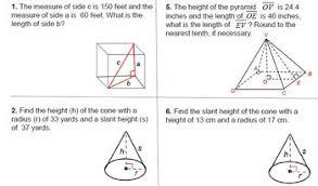 theorem 3d solids pdf worksheet geometry 8 g b 7 go math 3 d