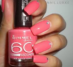 rimmel instyle coral nail luxxe