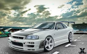 nissan skyline modified nissan skyline r34 gtr by murillodesign on deviantart