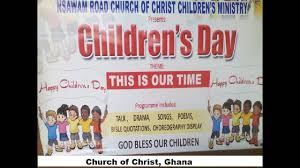 nsawam road church of accra children s day 28 08