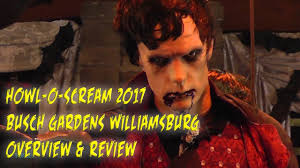 Family Garden Williamsburg Howl O Scream 2017 Tour U0026 Review Busch Gardens Williamsburg