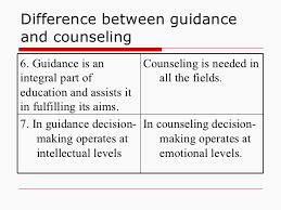 Difference Between Counselling Skills And Techniques Guidence And Counselling