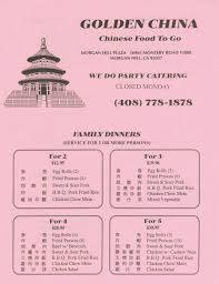 golden china online menu for golden china in hill california united states