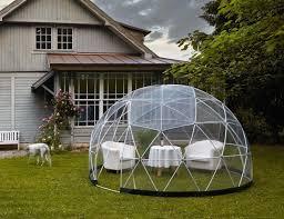 garden igloo outdoor living space for your garden gadget flow