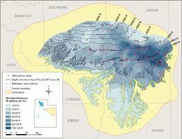 Map Of Southern Utah Oil Shale U2013 Utah Geological Survey