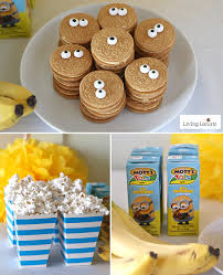 minion birthday party ideas minions food diy ideas for a minions party or despicable