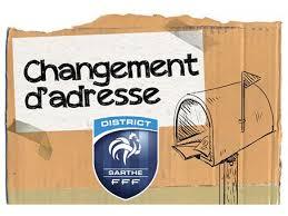 changement adresse siege social nouveau siège social du district district de la sarthe de football