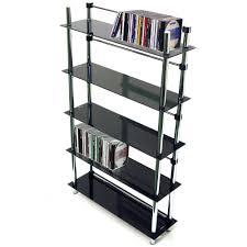 Media Storage Shelves by Maxwell 5 Tier Dvd Blu Ray Cd Media Storage Shelves