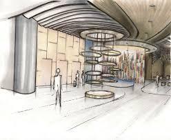 Entry Vestibule by Renderings U2014 J Lander Design Studies