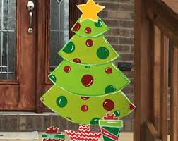 Christmas Garden Decorations Australia by Outdoor Christmas Decorations Etsy