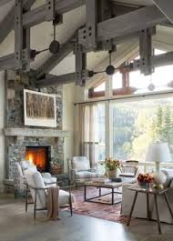 Currently Working On A Mountain Home And Using This As Major - Mountain home interior design