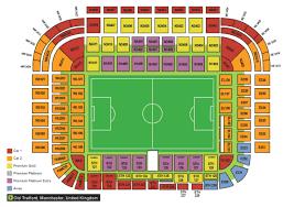 Utd Map Manchester United F C Football Club Of The Barclay U0027s Premier League