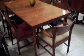 sears u0026 roebuck mid century modern dining room set an orange