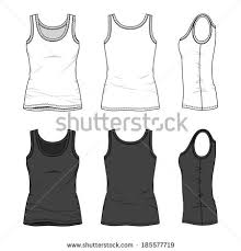tank top template stock images royalty free images u0026 vectors
