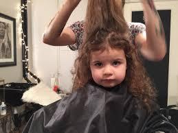 the girls get their very first hair cuts becky laparra