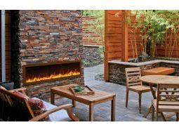 Outdoor Electric Fireplace Outdoor Electric Fireplaces Stylish Fireplaces